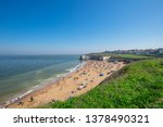 english coastline on beautiful... | Shutterstock . vector #1378490321