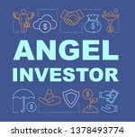 angel investor word concepts...