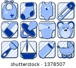 baby related icons | Shutterstock .eps vector #1378507