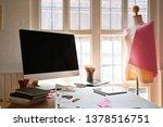 shot of fashion design studio....   Shutterstock . vector #1378516751