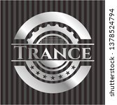 trance silver badge | Shutterstock .eps vector #1378524794