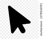 mouse cursor vector icon sign...