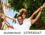 outdoor protrait of black... | Shutterstock . vector #1378530167