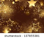 brown background decorated with ...