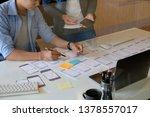website designer planning...