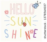 "Color  Text  ""hello Sunshine"" ..."