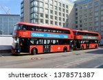london   april 13  2019. two... | Shutterstock . vector #1378571387