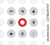 set of 8 design icons set....   Shutterstock .eps vector #1378629707