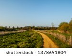 winding footpath in countryside | Shutterstock . vector #1378691804
