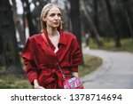 milan  italy   february 23 ... | Shutterstock . vector #1378714694