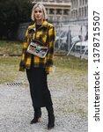 milan  italy   february 23 ... | Shutterstock . vector #1378715507