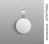 custom advertising wobbler... | Shutterstock .eps vector #1378774961