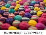 straw balls handmade by... | Shutterstock . vector #1378795844