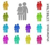 friends  boyfriend and... | Shutterstock .eps vector #1378817864