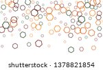 geometric background. simple... | Shutterstock .eps vector #1378821854