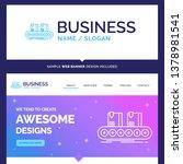 beautiful business concept... | Shutterstock .eps vector #1378981541