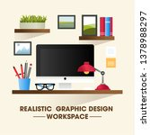 flat design vector illustration ... | Shutterstock .eps vector #1378988297