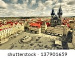view of the church of saint... | Shutterstock . vector #137901659