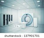 machine in hospital  | Shutterstock . vector #137901701