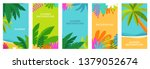 vector set of social media... | Shutterstock .eps vector #1379052674