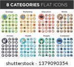 icon set for websites and... | Shutterstock .eps vector #1379090354