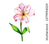 watercolor floral element | Shutterstock . vector #1379096024