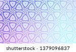 geometric background with... | Shutterstock .eps vector #1379096837