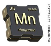 manganese element symbol from... | Shutterstock . vector #1379111624