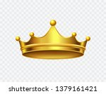 crown of king isolated on... | Shutterstock .eps vector #1379161421