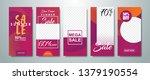 social media stories sale... | Shutterstock .eps vector #1379190554