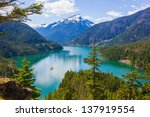 Diablo Lake. North Cascades...