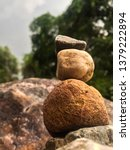 sorting stones from large to... | Shutterstock . vector #1379222894