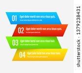 gradient infographics banners.... | Shutterstock .eps vector #1379238431
