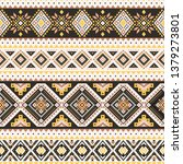 tribal striped seamless pattern....   Shutterstock .eps vector #1379273801
