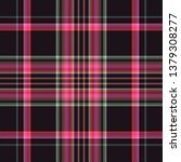 tartan fabric plaid  background ... | Shutterstock . vector #1379308277