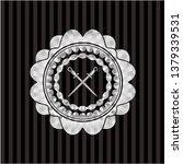 crossed swords icon inside...   Shutterstock .eps vector #1379339531