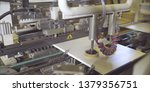 furniture factory machine.... | Shutterstock . vector #1379356751