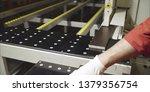 furniture factory machine.... | Shutterstock . vector #1379356754