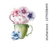 hand drawn pencil illustration...   Shutterstock .eps vector #1379358494