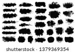 brush strokes. vector... | Shutterstock .eps vector #1379369354