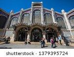 valencia  spain   april 11th...   Shutterstock . vector #1379395724