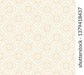 seamless decorative wallpaper...   Shutterstock .eps vector #1379418437
