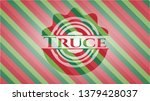 truce christmas colors style...   Shutterstock .eps vector #1379428037