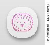 barrel cactus app icon. cactus...