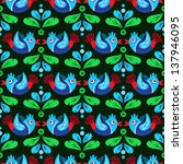 colorful seamless pattern with... | Shutterstock .eps vector #137946095