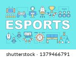 esports word concepts banner....