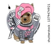 Pretty Yorkshire Terrier With...