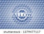 allow blue emblem with... | Shutterstock .eps vector #1379477117