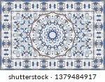 vintage arabic pattern. persian ...   Shutterstock .eps vector #1379484917