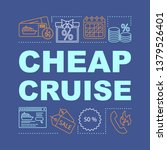 cheap cruise word concepts...